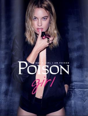 Dior pub : parfum Poison Girl