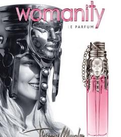 Ophélie Rupp muse du parfum Womanity