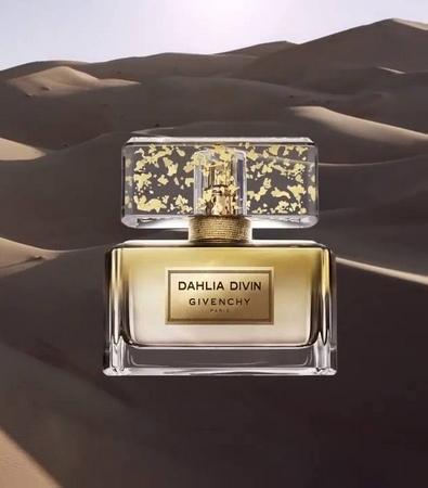 Dahlia Divin Le Nectar, le luxueux parfum d'or de Givenchy