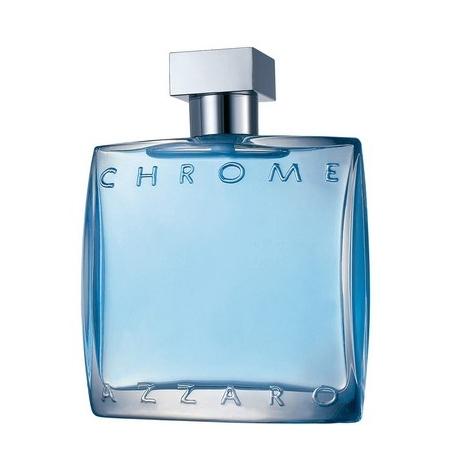 Chrome, l'emblématique parfum bleu azur d'Azzaro