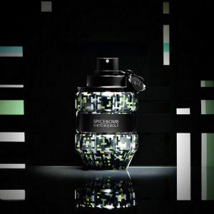 De l'art digital avec le parfum Spicebomb