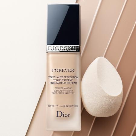 Le teint parfait offert par Diorskin Forever de Dior