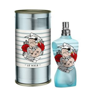 Look rétro du parfum le Male Popeye