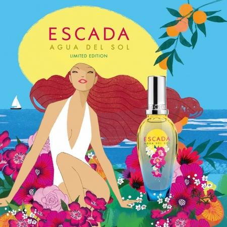 Agua Del Sol, la fragrance estivale d'Escada de l'été 2016