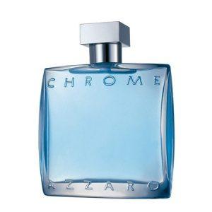 Chrome, un parfum iconique de la marque Azzaro