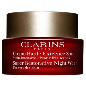 La Crème Haute Exigence Soir, l'expert anti-âge de Clarins