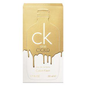 Découvrez la composition de ck One Gold