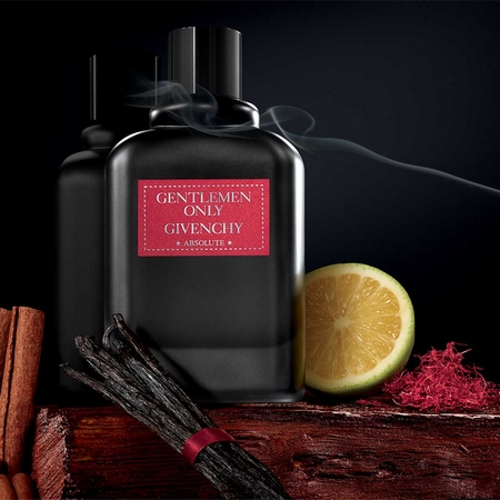 La bouteille Givenchy Gentlemen Only Absolute