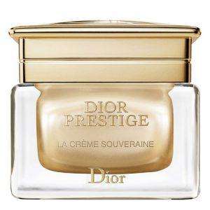 La richesse onctueuse de la Crème Souveraine de Dior Prestige