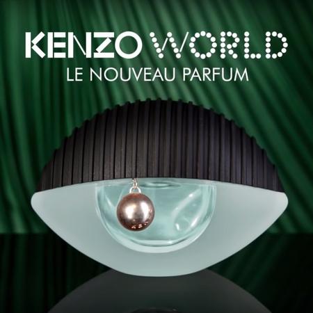 La publicité inattendue pour Kenzo World