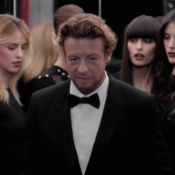 Simon Baker dans la pub Gentlemen Only Absolute