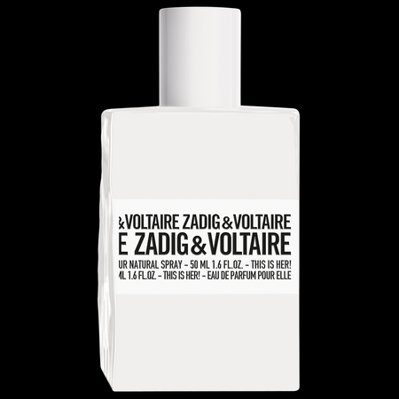 This is Her, le nouveau flacon Zadig & Voltaire