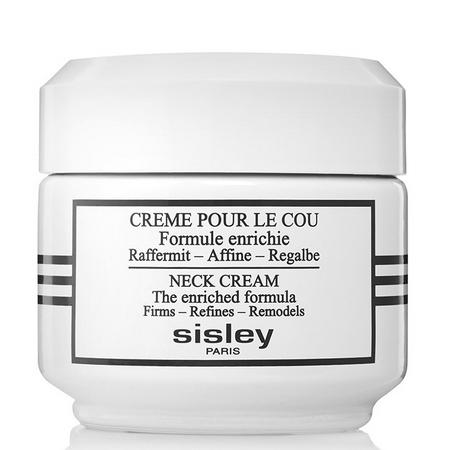 Sisley enrichi sa formule de la Crème pour le cou