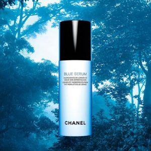 Chanel Blue Serum et les zones Bleus