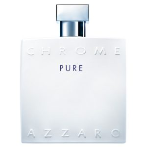 Le flacon Azzaro Chrome revisité pour Chrome Pure