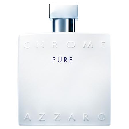 Le flacon Azzaro Chrome revisité pour Chrome Pure
