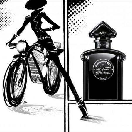 Zoom sur la fragrance Black Perfecto