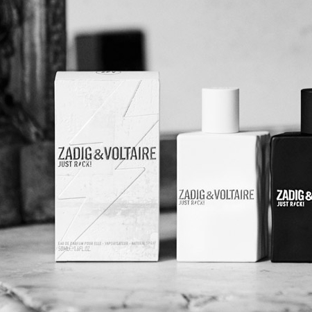 Just Rock For Him, le nouveau parfum rebelle de Zadig & Voltaire