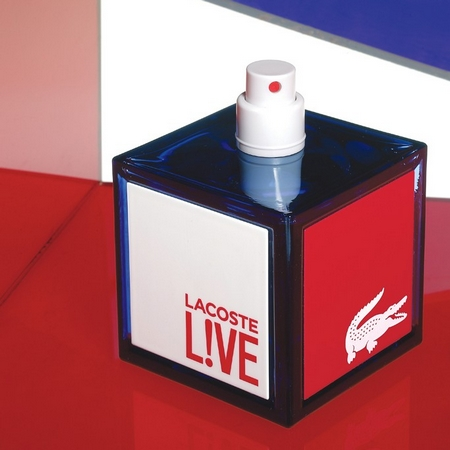 Lacoste Live le crocodile survitaminé en fragrance