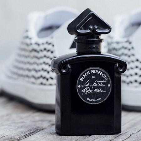 le prix du parfum black perfecto de guerlain prime beaut. Black Bedroom Furniture Sets. Home Design Ideas