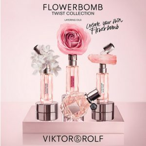 Viktor & Rolf lance la Collection Flowerbomb Twist
