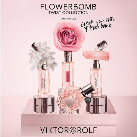 Viktor & Rolf lance la Collection Flowerbomb Twist