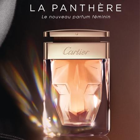 La Panthère la fleur sauvage de Cartier
