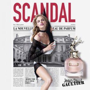 Nouvelle pub Scandal de Jean Paul Gaultier