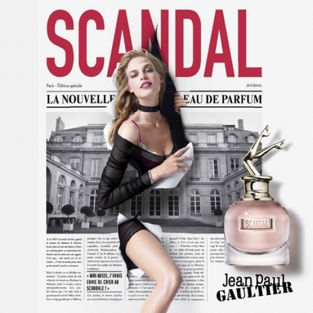 nouvelle pub parfum scandal de jean paul gaultier prime beaut. Black Bedroom Furniture Sets. Home Design Ideas