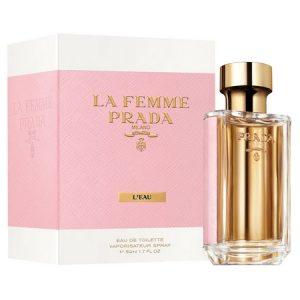 La Femme Prada L'Eau, un parfum tout en légèreté