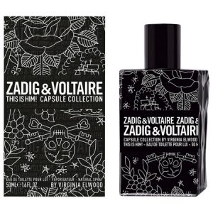 This is Him Capsule Collection, Zadig & Voltaire tatoue son nouveau parfum !