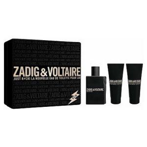Zadig & Voltaire signe un coffret de leur dernier parfum Just Rock pour Lui