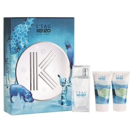 L'Eau de Kenzo pour femme, la nouveauté parfumé disponible en coffret