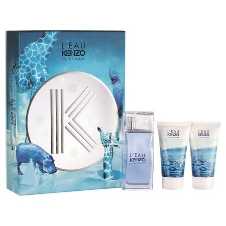 Le parfum L'Eau par Kenzo pour Homme disponible dans un nouveau coffret