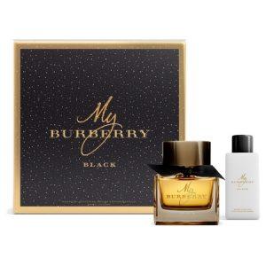 Nouveau coffret pour la fragrance My Burberry Black