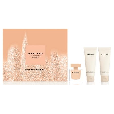 Narciso Rodriguez divulgue un coffret pour son parfum Narciso Poudrée