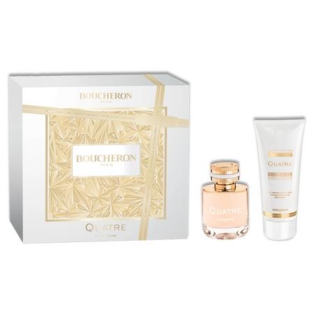 Le retour du fameux coffret parfum Quatre Pour Femme de Boucheron