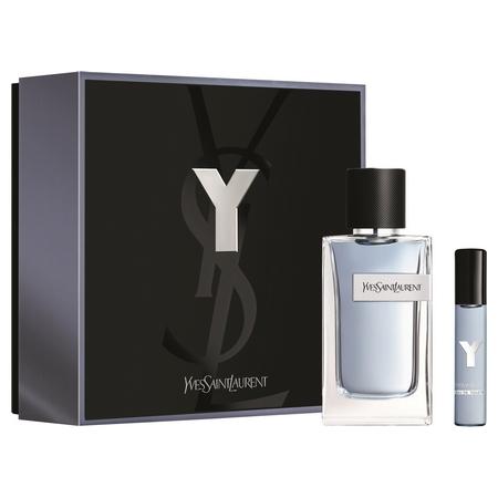 Un coffret du dernier parfum YSL : Y pour Homme
