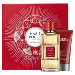 Guerlain et son dernier coffret du parfum Habit Rouge