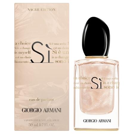 Armani dévoile un version Nacré de son parfum Si