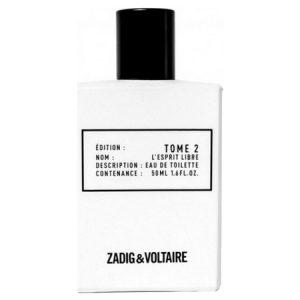 Nouveau parfum Zadig & Voltaire Tome 2 L'Esprit Libre