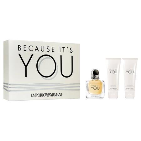 Nouveauté : Le parfum Because It's You Armani en coffret