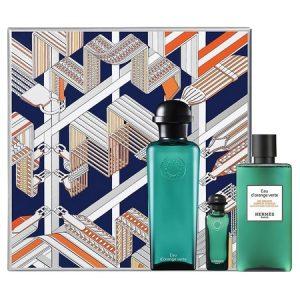 Nouveau coffret Eau d'Orange Verte Hermès