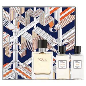 Nouveau coffret pour le parfum Terre d'Hermès