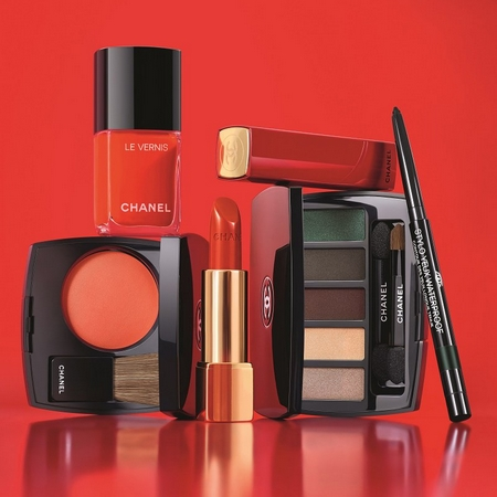 Numéros Rouge Libre, la nouvelle collection maquillage Chanel