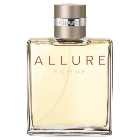 Les différents parfums Allure Homme de Chanel