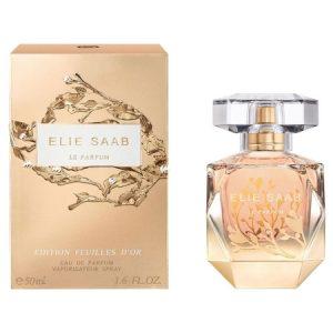 Nouveau parfum Elie Saab Feuilles d'Or