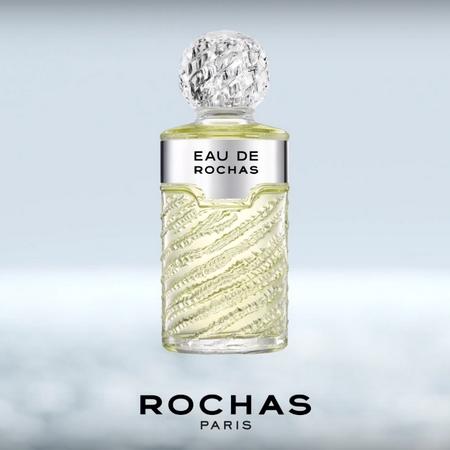 Nouvelle pub pour le parfum Eau de Rochas