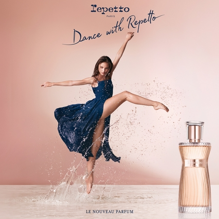 Le parfum Dance with Repetto