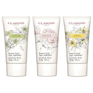 Nouveauté Clarins : Baume Corps Super Hydratant parfumé